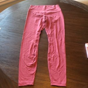 Lululemon pink align leggings